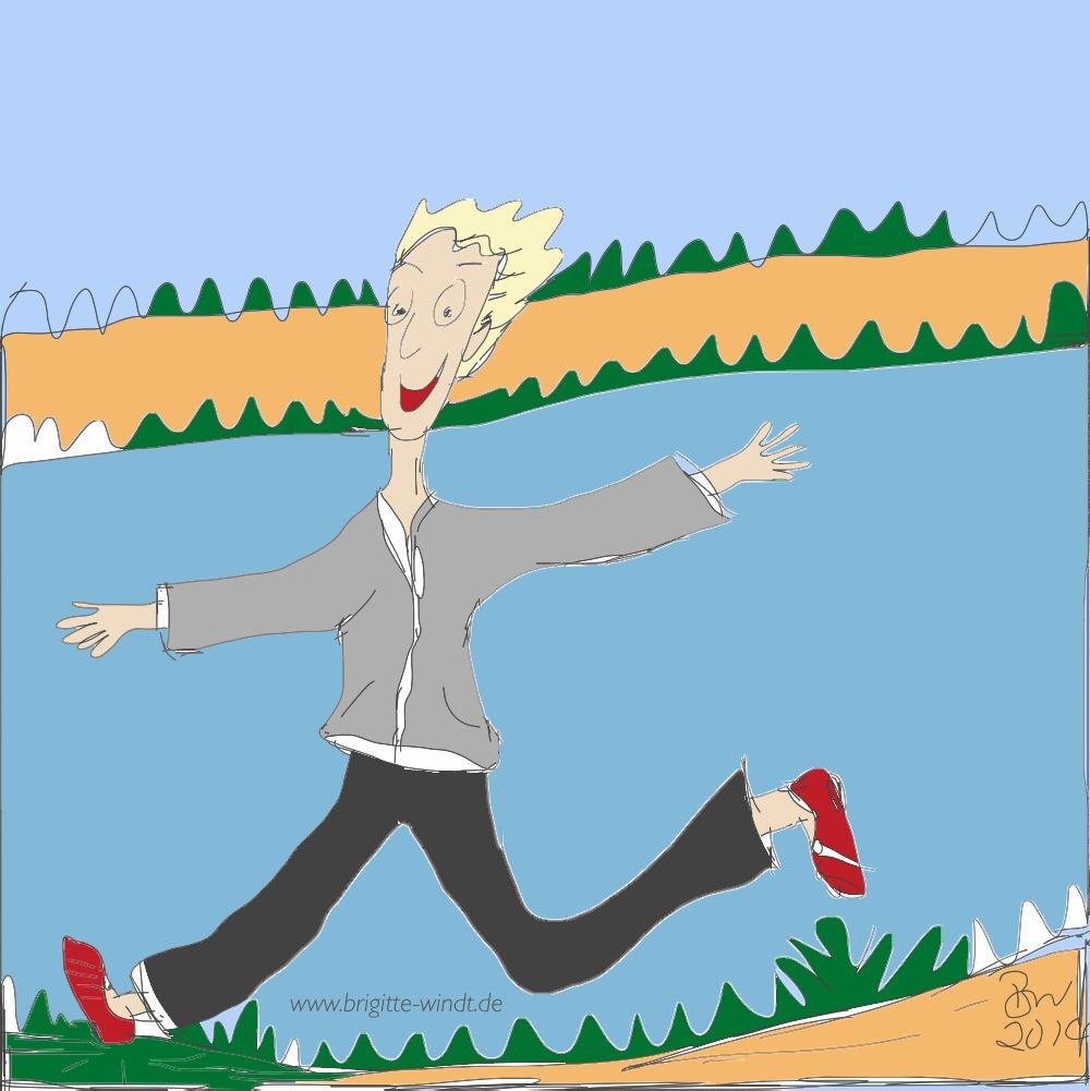 Lauf-Flow | Wenn Selbstständige laufen lernen.