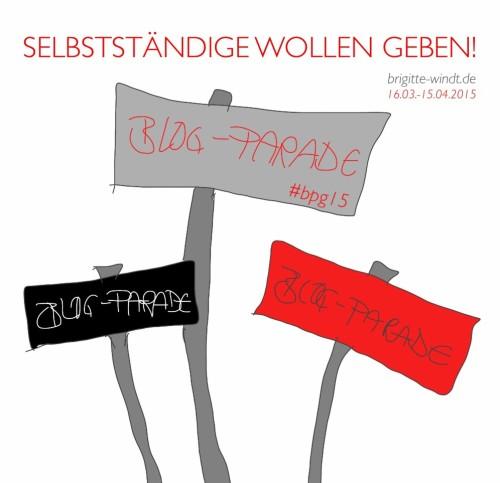 Blog-Parade SELBSTSTÄNDIGE WOLLEN GEBEN!