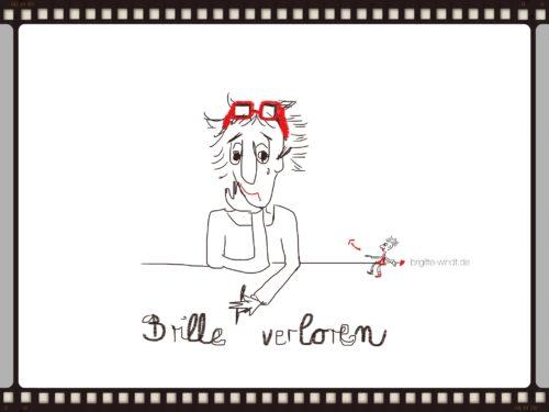 Brille - 30 Skizzen in Bild, Text und Ton 2017 - Brigitte Windt