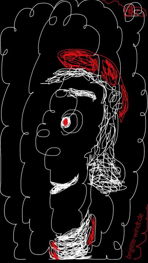 Einstricholow - 30 Skizzen 2017 - Brigitte Windt