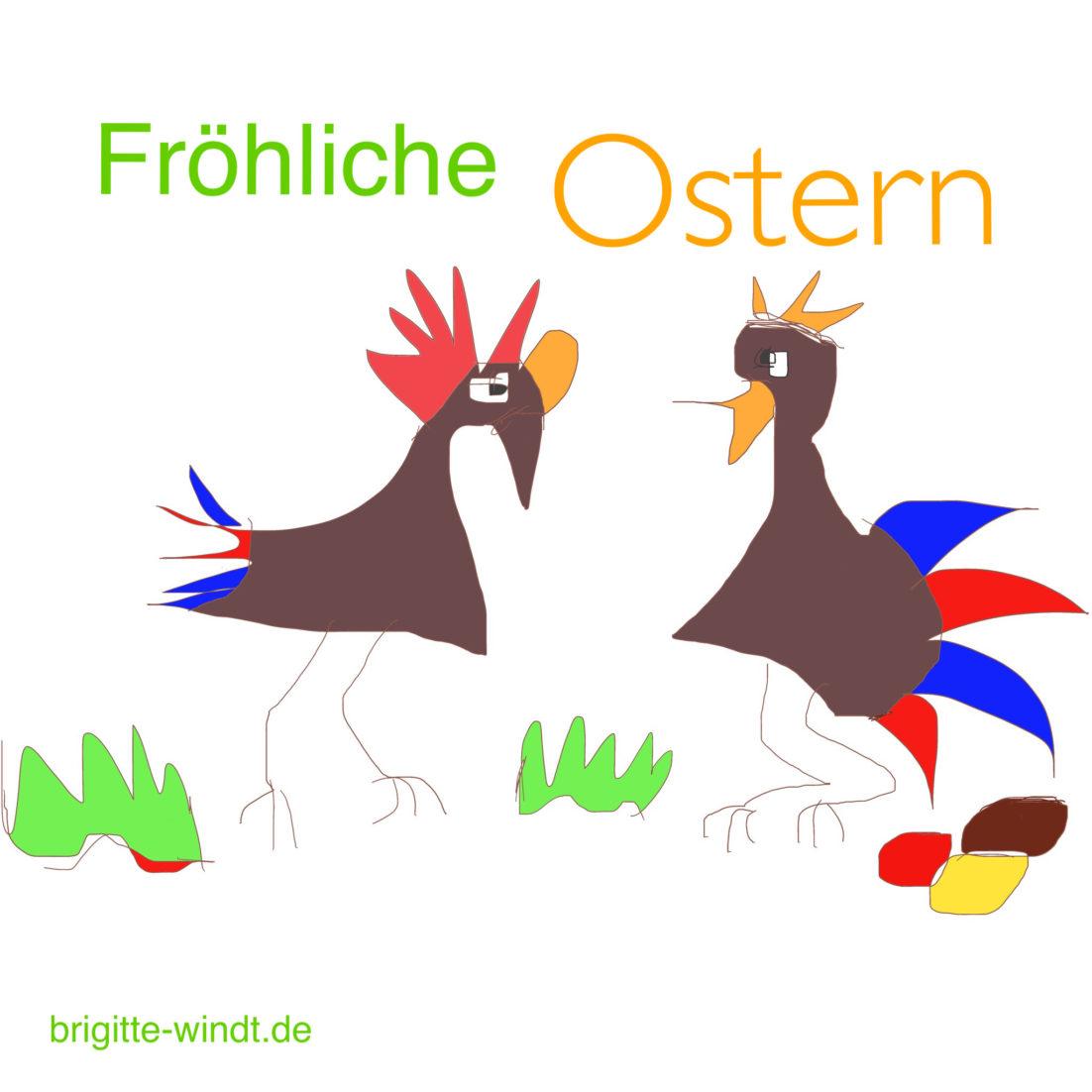 Fröhliche Ostern wünscht Brigitte Windt Berlin