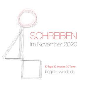 Schreiben im November 2020