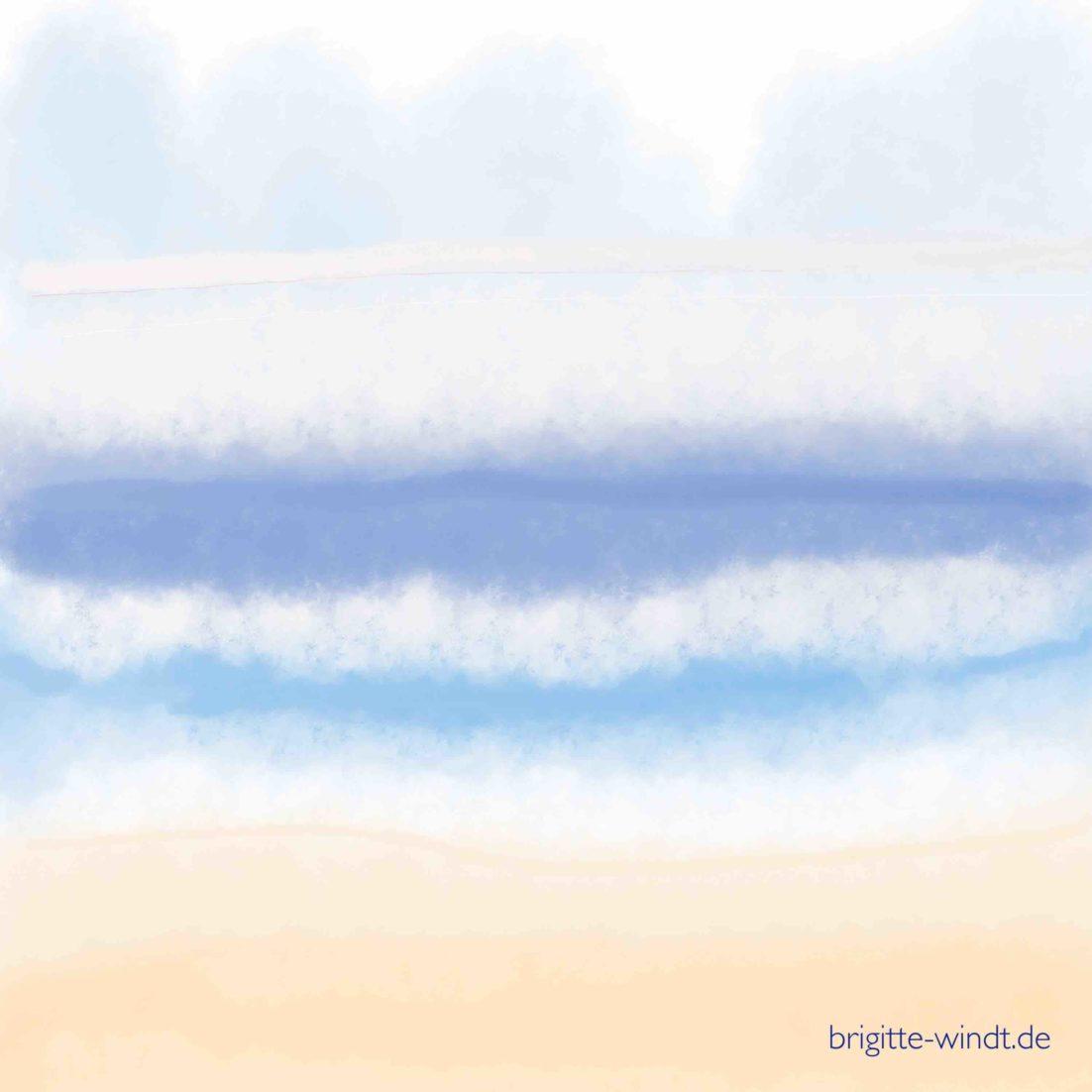 Schreiben im November 2020 - Fenster zum Meer - Brigitte Windt