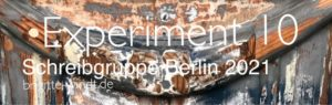 Experiment 10 - Schreibgruppe Berlin 2021 - Logo - Brigitte Windt